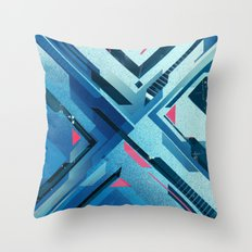 Geometric - Collage Love Throw Pillow