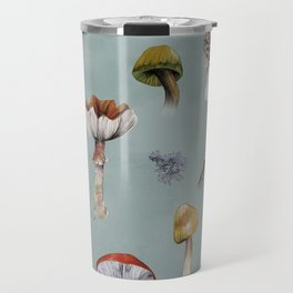 Mushroom Forest Party Travel Mug