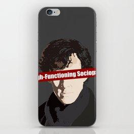 Sherlock: High-Functioning Sociopath iPhone Skin
