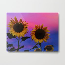 Sunflower Daydream II Metal Print
