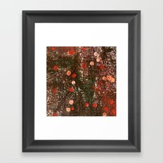 Encaustic Experiment Framed Art Print