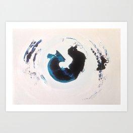 The Wave Series (vii) Art Print