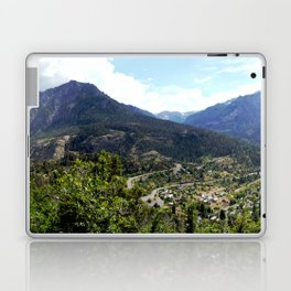 Ouray - At the Mouth of the Uncompahgre Gorge Laptop & iPad Skin