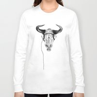 221b Long Sleeve T-shirts featuring 221B by KatePowellArt