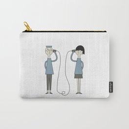 Hallo! Carry-All Pouch