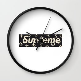 Supreme Wall Clock