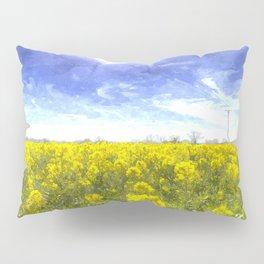 Yellow Fields Of Summer Art Pillow Sham