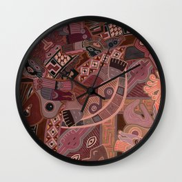 Dragons vol.3 Wall Clock