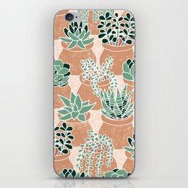 Succulent's Tiny Pots iPhone Skin
