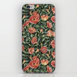 Campsis love iPhone Skin