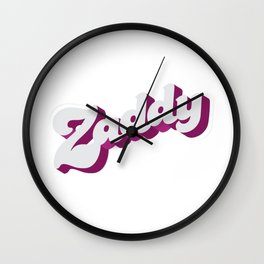 Zaddy Wall Clock