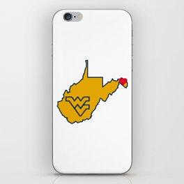 Hometown love iPhone Skin