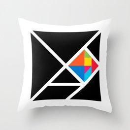 tangram Throw Pillow