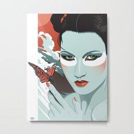 """""""The Monarch"""" Metal Print"""