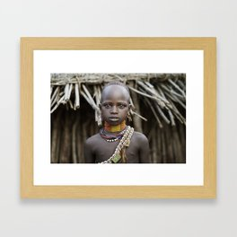 Hamer Beauty Framed Art Print