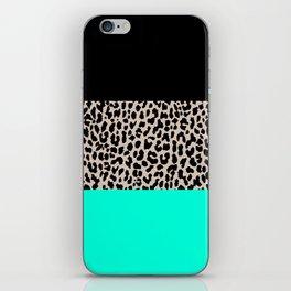 Leopard National Flag VII iPhone Skin