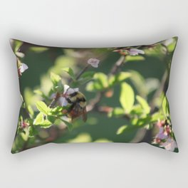 Cherry Bee 4 of 5 Rectangular Pillow