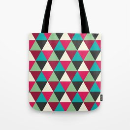 Southwestern Tribal Triangle Pattern Tote Bag