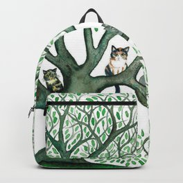 Cheri Whimsical Cats in Tree Backpack