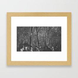 Transit Photo Series: Men at work Framed Art Print