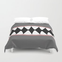 Shark Teeth, Monster, Dinosaur, Alien Duvet Cover