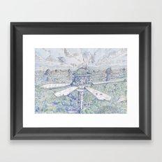 The Solar City Framed Art Print