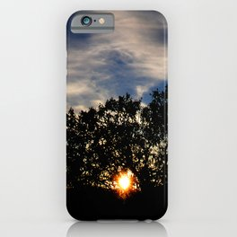 Just Enough Light for the Next Step in My Journey iPhone Case