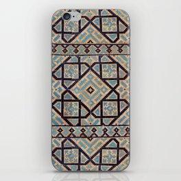 Samarkand blue ornament iPhone Skin