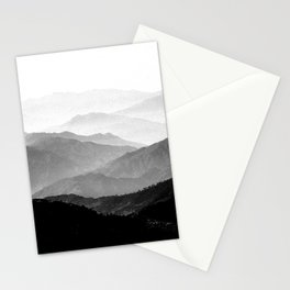 Mountain Mist - Black and White Collection Stationery Cards