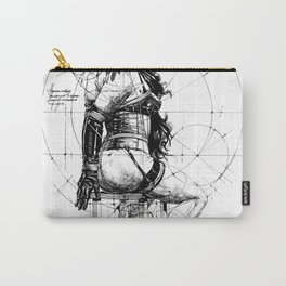 Love and Geometry. INK ART. Yury Fadeev Carry-All Pouch