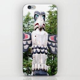 Alaskan Totem - Eagle iPhone Skin