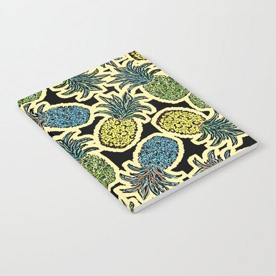 Pineapple Pandemonium - Retro Tones Notebook