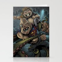 the goonies Stationery Cards featuring The Goonies by flylanddesigns