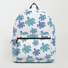 Turtle Pattern Backpack