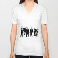 reservoir dogs V-neck T-shirts featuring Reservoir Dogs. by AmyLianneMuir