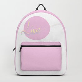 Live #society6 #live Backpack