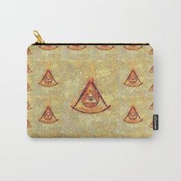Freemason, Mason, Masonic, Lodge, Symbol, Setsquare, Compass Carry-All Pouch