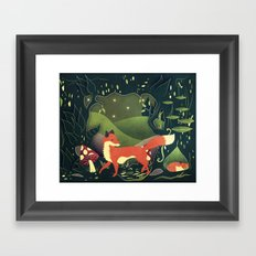 protector of the innocent Framed Art Print
