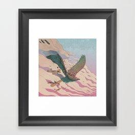 The ancient eagle Framed Art Print
