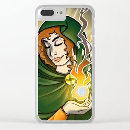 Brighid Clear iPhone Case