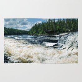 Swim Upstream Rug