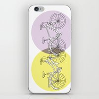 bikes iPhone & iPod Skins featuring BIKES!! by Jean Rim