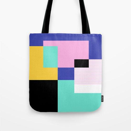 Tile Harmony Tote Bag