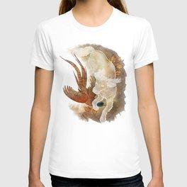 Ghost Dog- Spaniel hunting Pheasant T-shirt