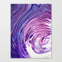 Violaceous Velocity Canvas Print