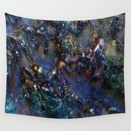 Ancient Bedrock on Mars Wall Tapestry