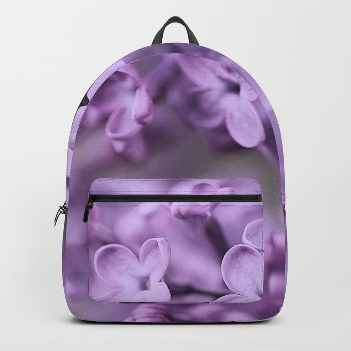 Lilac Flowers Backpack