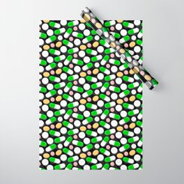 Deadly Pills Pattern Wrapping Paper