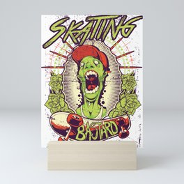 Skating Bastard Mini Art Print