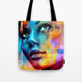 Dreaming in blue Tote Bag